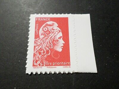 FRANCE 2018 timbre de carnet neuf** MARIANNE ENGAGEE AUTOADHESIFS PRIO MNH STAMP