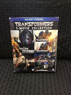 TRANSFORMERS 5-Movie Collection BLU-RAY