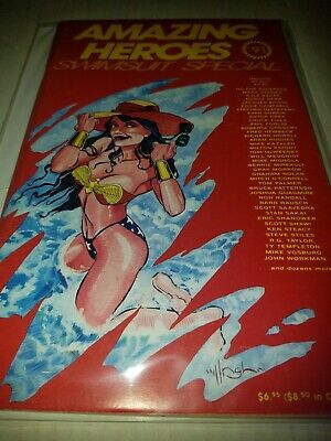 Amazing Heroes SwimSuit Special 1991 1st Toxic Avenger VF+++