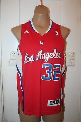 41e62fffc42 ADIDAS NBA Jersey Los Angeles Clippers Blake Griffin Red Youth Size Medium