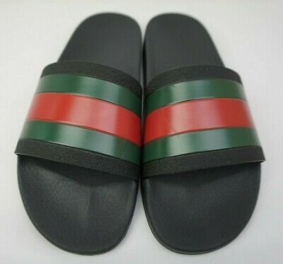 0a7eef31fea520 GUCCI PURSUIT RUBBER Slide Sandal Size 7 UK 8 US Men s -  165.00 ...