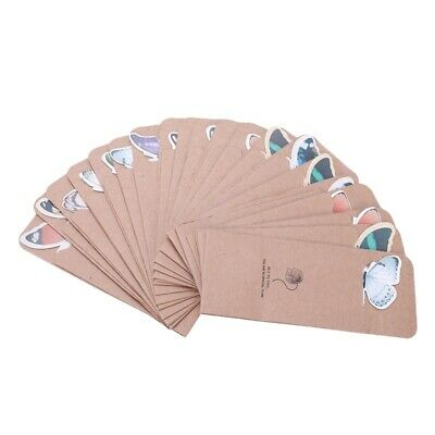 1X(Butterfly Bookmark Decoration 20 Pcs A7G3)
