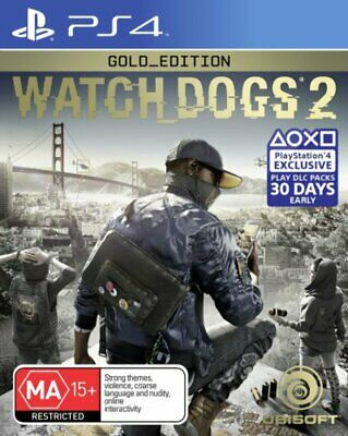 Watch Dogs 2 Gold Edition PS4 Game NEW