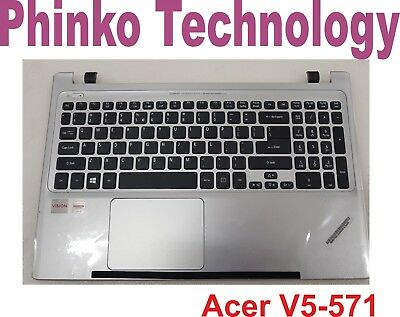 Acer Aspire V5-571 V5-571G V5-571P Palmrest Cover Keyboard & Trackpad TYPE 2