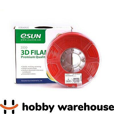 eSUN PLA+ 3D Filament 1.75mm Red 1kg