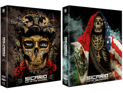Presale) Sicario: Day Of The Soldado 4K & Blu-ray Full Slip Lenticular Steelbook