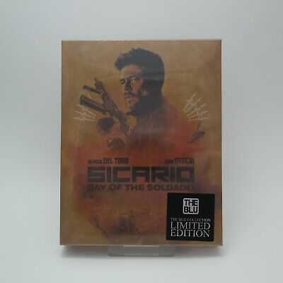 (Presale) Sicario: Day Of The Soldado (Blu-ray) Full Slip Steelbook / The BLU
