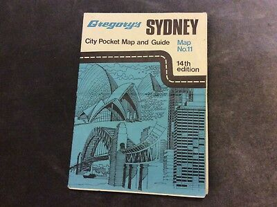 Gregory's Pocket Map - Sydney - 14th Edition
