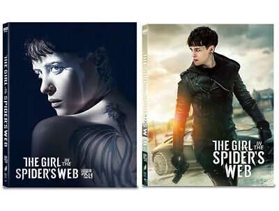 The Girl In The Spider's Web 4K, Blu-ray Full Slip Lenticular Steelbook