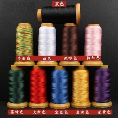 33 Color 0.2-1.6mm Nylon Cord Sewing Thread Rope Silk Beading String Jewelry