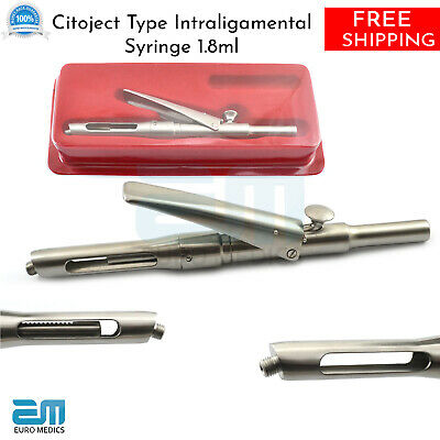 Dental Citoject Intraligamentary Syringe 1.8ml Anesthetic Injection Sintraject