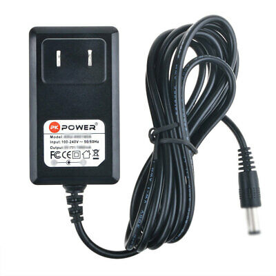 PKPOWER 9V 1A Adapter Charger for Jim Dunlop 105Q Cry Baby Bass Wah Guitar Pedal