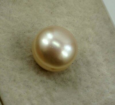 GGL Certified 10.60 Ct Dazzling Natural Golden Pearl Untreated New year Offer
