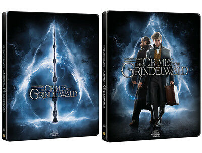 Fantastic Beasts: The Crimes Of Grindelwald - 4K 3D 2D Blu-ray Steelbook / Pick!