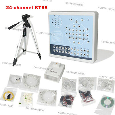 KT88-2400 Digital 24-channel EEG Machine & Mapping System, 2 Tripods,PC Software