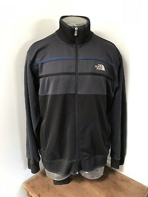 Mens Large VINTAGE THE NORTH FACE 90s Polyester Full Zip Up Retro Jacket
