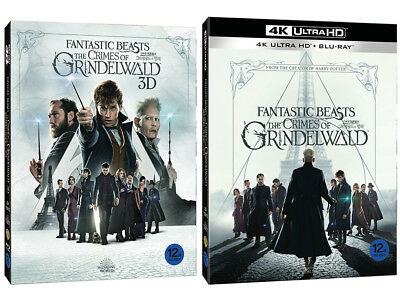 Fantastic Beasts: The Crimes Of Grindelwald - 4K 3D 2D Blu-ray Slip Case Edition