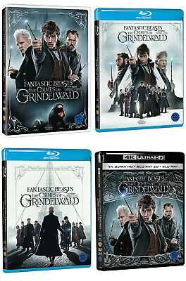 Fantastic Beasts: The Crimes Of Grindelwald - 4K 3D 2D Blu-ray, DVD (2019) Pick!