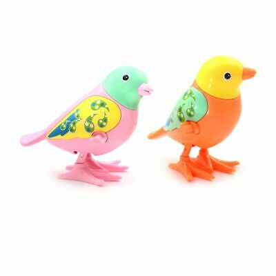Cute Clockwork Wind Up Toy Cute Bird Kids Early Educational Toy Color Random