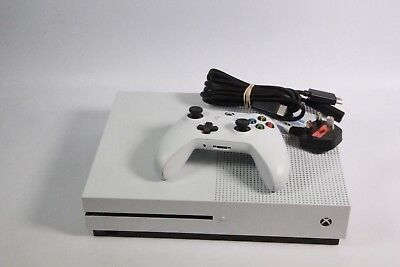 Microsoft Xbox One S 500GB Console - White GOOD CONDITION, WORKS PERFECTLY