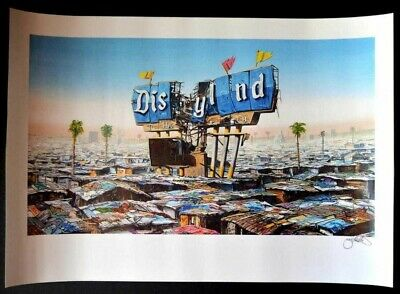 Jeff Gillette - 'DISYLND signed lithograph