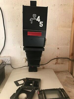 Ahel 5x4 black and white condensor enlarger