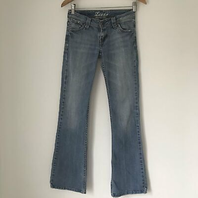 Vintage low Flare Levis. Small