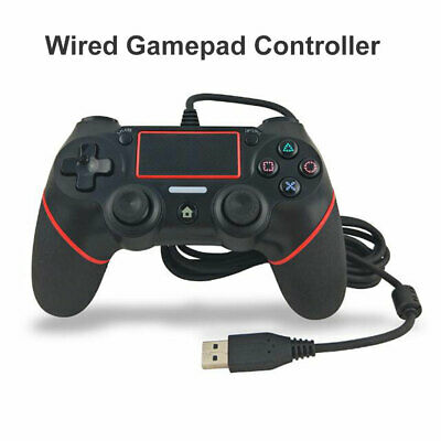 USB Wired Controller For PS4 Dualshock 4 Gamepads With 1.8M Cable