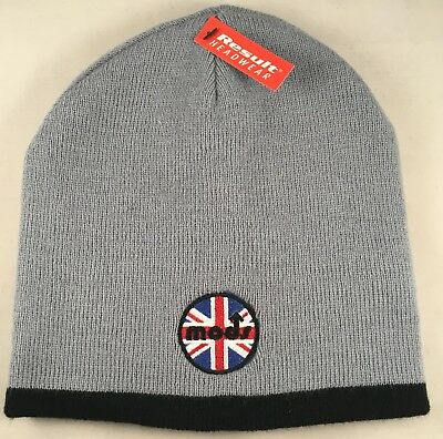 Clothing, Shoes & Accessories Northern Soul Mod Ktf Wigan Casino Embroidered Badge Not A Patch Ski Hat Beanie