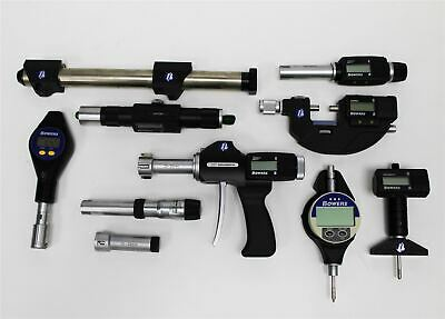 Bowers XT Holematic Digital Bore Micrometer and Assorted Bowers Parts | UNTESTED