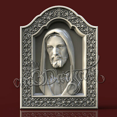 3D Model STL for CNC Router Artcam Aspire Religion Jesus Nazareno Cut3D Vcarve