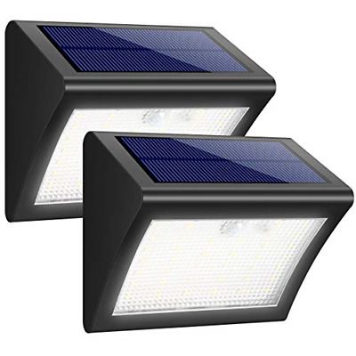 iposible Solar Lights Outdoor, 38LED Solar Security with Motion Sensor Solar 3 [