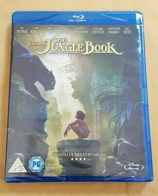 The Jungle Book Blu-ray New & Sealed