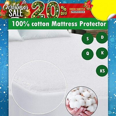 100% Cotton Cover & Fill HealthGuard? Quilted Mattress & Pillow Protector Pack