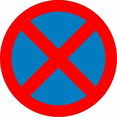 No stopping (Clearway) Road safety sign