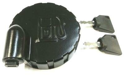 PART NO. 123//05892 331//33064 JCB PARTS DIESEL FUEL TANK CAP WITH 2 KEYS