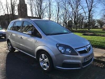 Vauxhall Zafira 1.6 Manual, Low Miles 69K,4 New Tyres,new Battery,recent Clutch