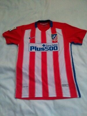 Atletico Madrid 2015-2016 Home Football Shirt #7 Griezmann S Man/ Youth XL