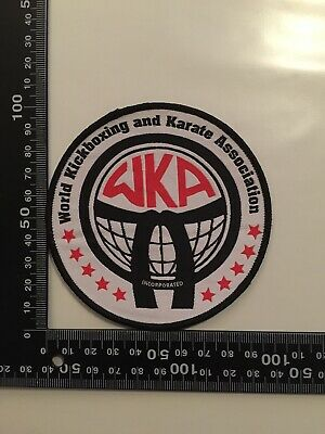 World Kickboxing And Karate Association Patch