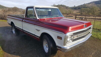 1969 Chevrolet C-10 LS Swap Frame Off Restomod Chevy C-20 Truck LS1 Swapped Chevy C-20 4L60e 4 Speed Automatic Fuel Injected LSX No Reserve
