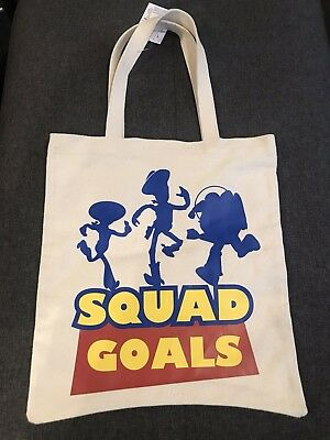 26d9e18e24 DISNEY PARKS TOY Story Squad Goals Tote Bag New With Tags -  24.99 ...