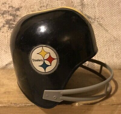 9ccceeff49d5 VINTAGE NFL 1970 S Pittsburgh Steelers Stamford Art Defense Action ...