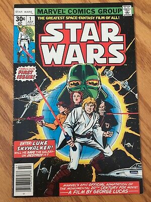 Star Wars #1 original + 2, 3, 4, 5, 6 all orig. (Jul 1977+) Marvel