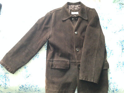 Giacca pelle renna Bello Boys vintage uomo made in italy