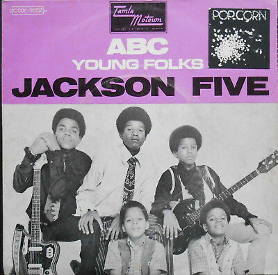 "JACKSON FIVE ABC 7"" French 1970 ex"