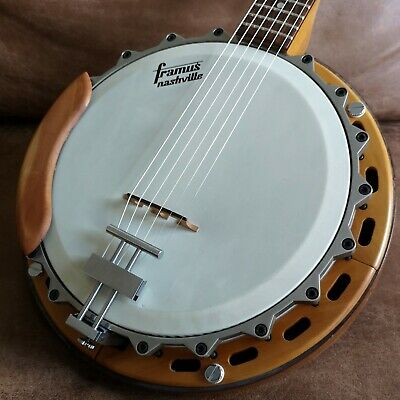 Framus Nashville Guitar Banjo Gitarrenbanjo Vintage Made in West Germany