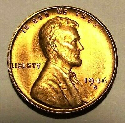 LINCOLN 1939 PDS GEM RED BU UNC SUPER NICE