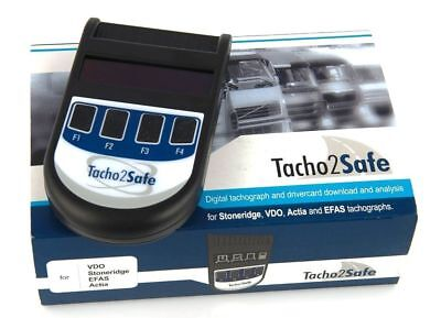 digital tachograph and drivercard download tool analysis software included