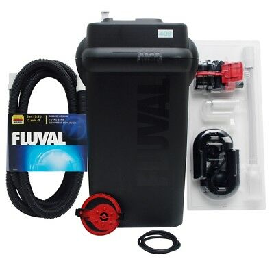 Fluval 406 External Filter Canister Filtration Media Fish Tank Aquarium Marine
