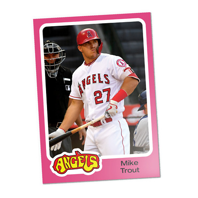 2019 Topps Throwback Thursday TBT Set 7 ~ #40 Mike Trout Los Angeles Angels